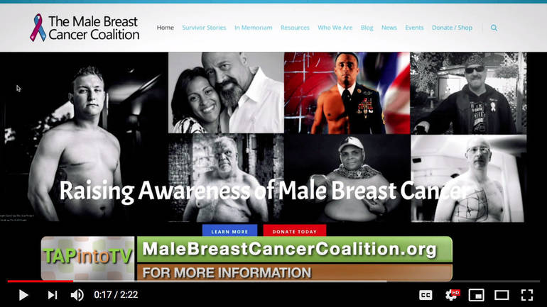The Male Breast Cancer Coalition, Raising Awareness