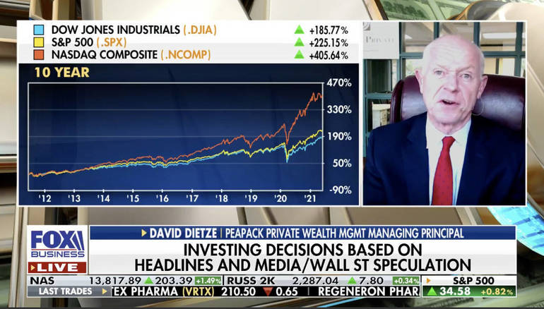 WATCH: Peapack Private Wealth's Dietze Looks for 'Earnings Per Share Growth'