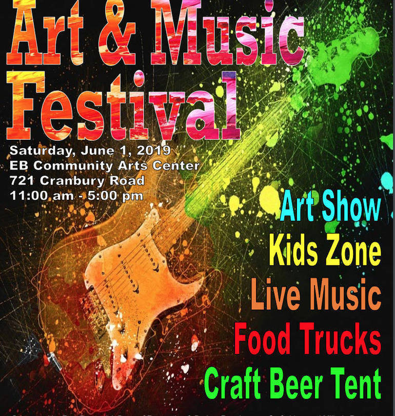 East Brunswick's Annual Art and Music Festival on Saturday June 1