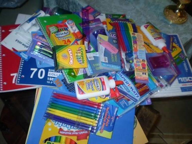 Area Rotary Club Holds School Supply Drive for Special Needs Students