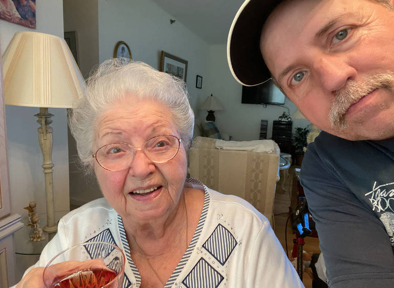 """Thursday """"Dates"""" Are Back: Sports Writer and Coach Reflects On Separation From His Mom During Pandemic"""