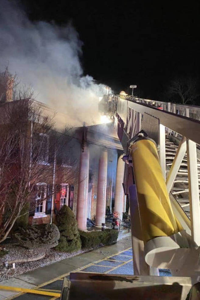 """The Spa at Little River"" Burns on Old Bridge Turnpike"