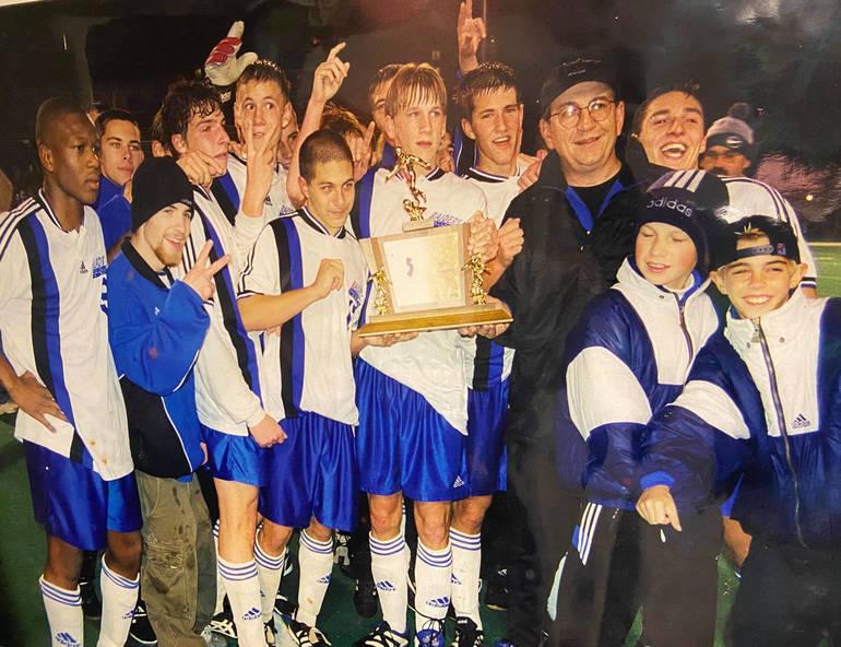 Scotch Plains-Fanwood won its last state title in 1998 under Coach Brez.