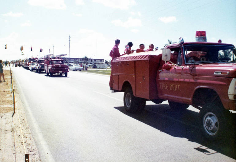 Coral Springs-Parkland Fire Department Celebrates 50 Years Thanks To Volunteer Spirit