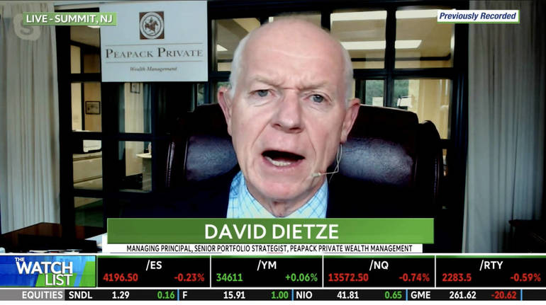 WATCH: Peapack Private Wealth's Dietze Likes the 'Granddaddy of All Semiconductor Players'