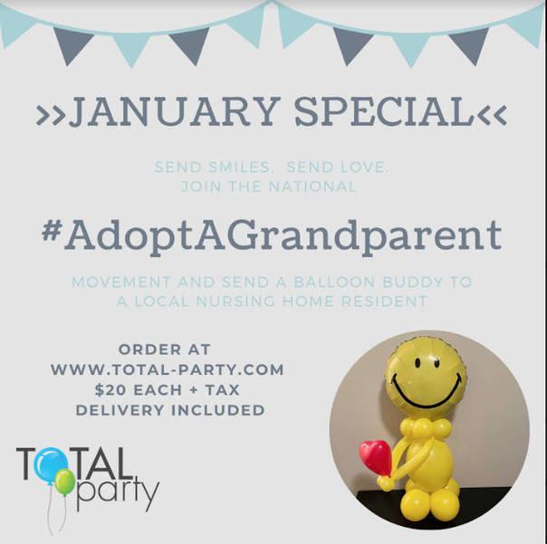 """Adopt a Grandparent"" Program Brings 180 Smiles to East Brunswick"