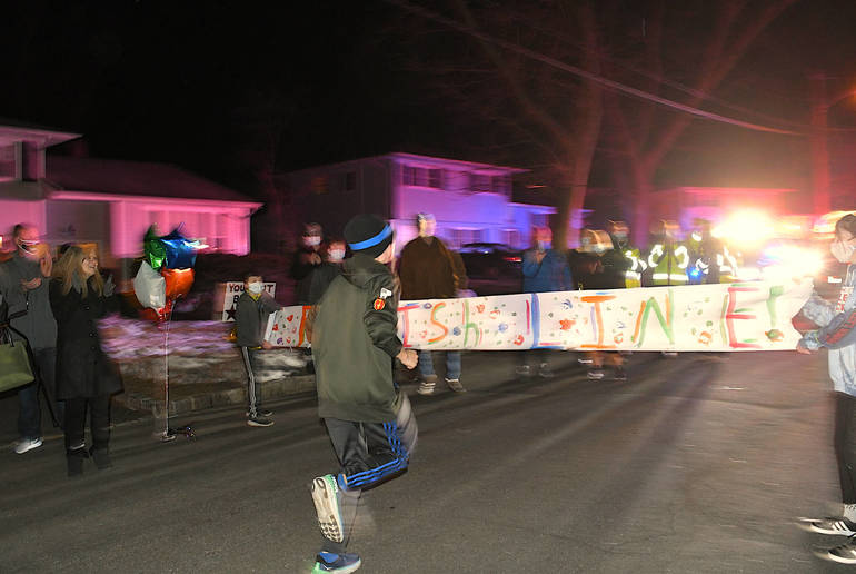 Run, Brady, Run: Teen Logs 48 Miles in Two Days to Benefit Morristown's Goryeb Children's Hospital
