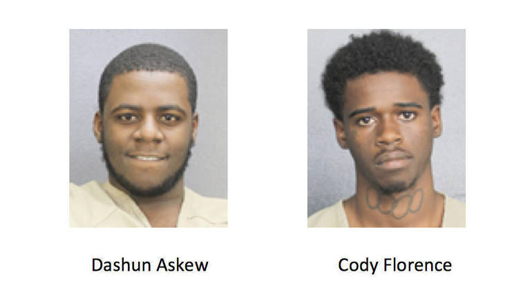 Two Men Charged With Breaking Into Cars at Sawgrass Center Near Heron Bay
