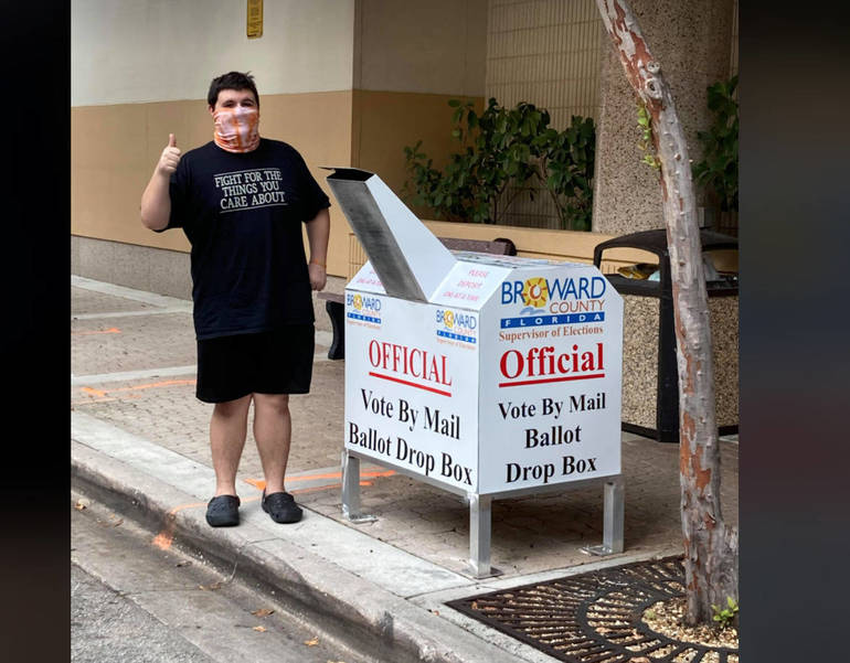 Video of Student Voting Goes Viral