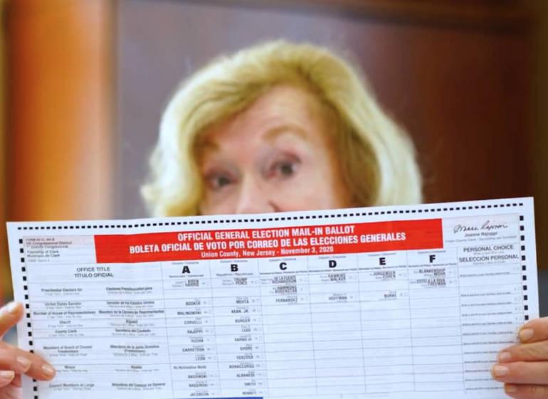 Union County Clerk Joanne Rajoppi General Election 2020