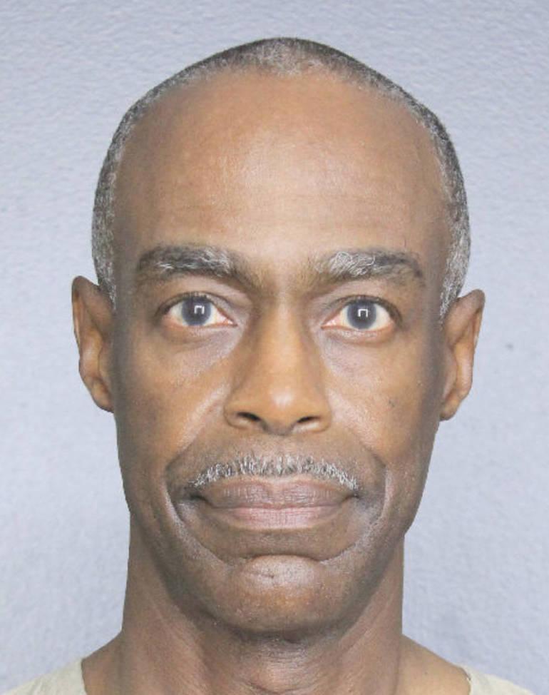 The photo of Broward County Schools Superintendent Robert Runcie at Broward County Jail.