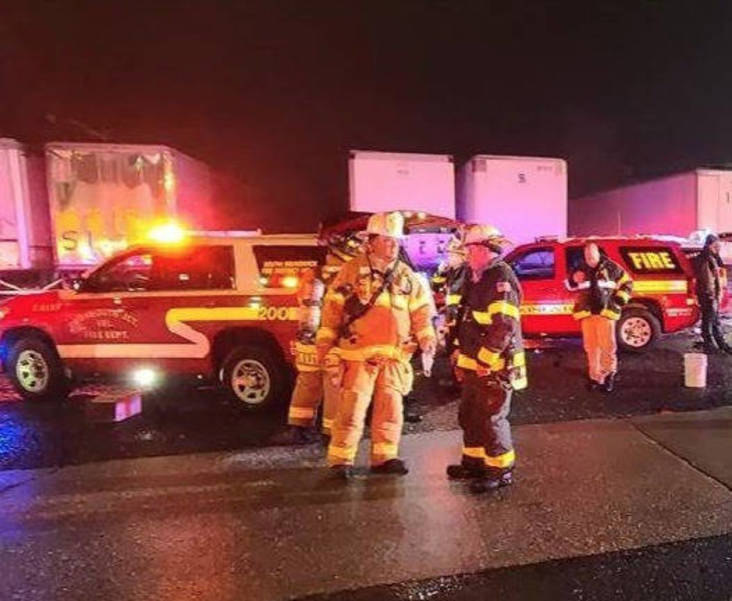 Warehouse in South Brunswick Township Catches Fire; No One was Injured