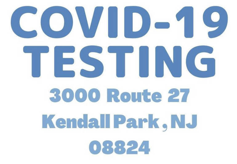 New Outdoor COVID-19 Testing In South Brunswick