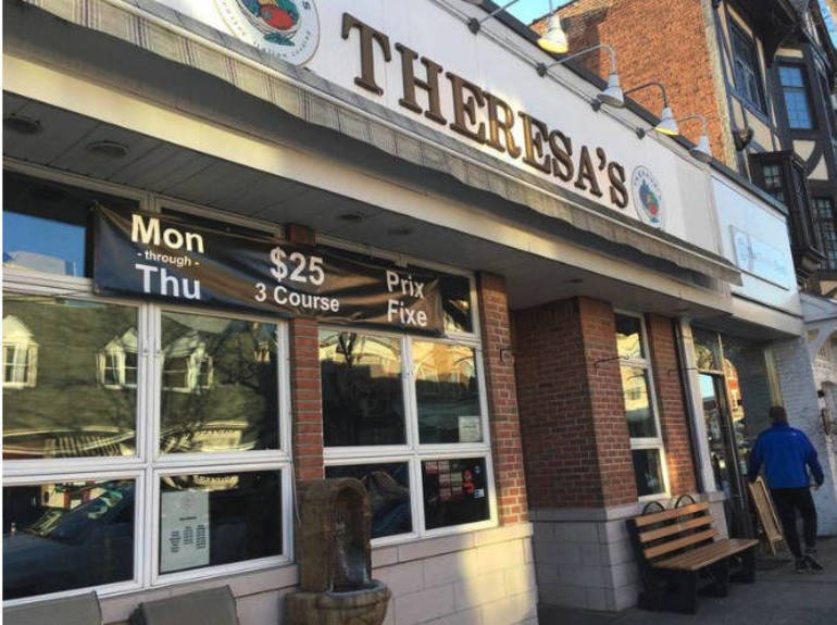 Theresas Closing in Westfield NJ