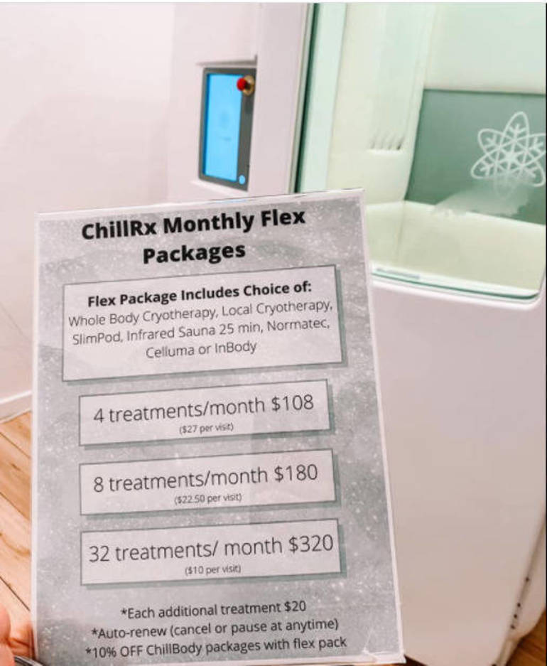 ❤️Get Your Valentine Something Different: ChillRx Cryotherapy of Red Bank