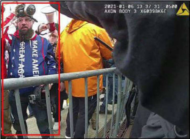 New Jersey Man  Arrested for Assault for January 6 Insurrection at US Capitol