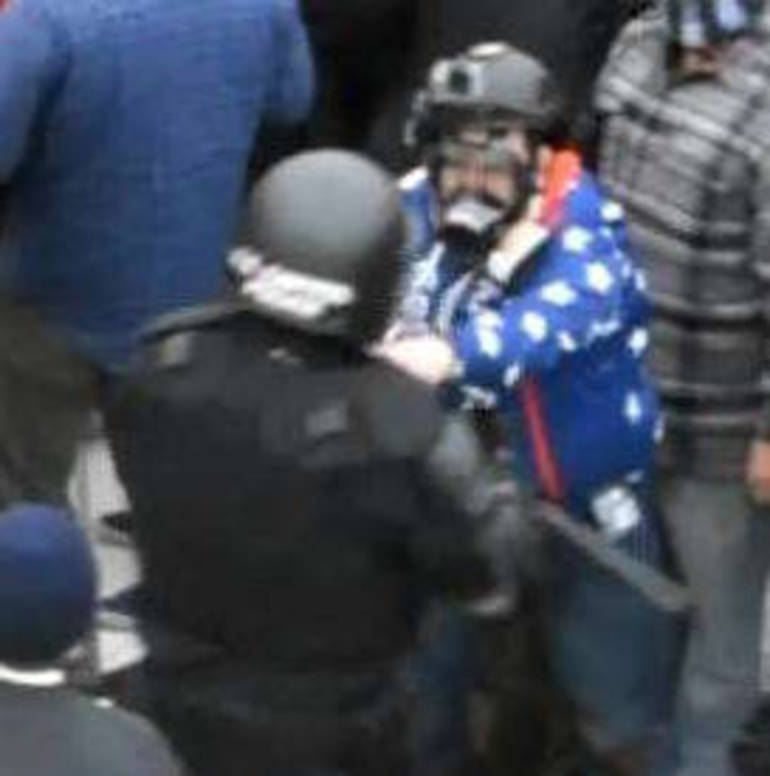 East Brunswick's Chris Quaglin is Arrested for Assault for January 6 Insurrection at US Capitol