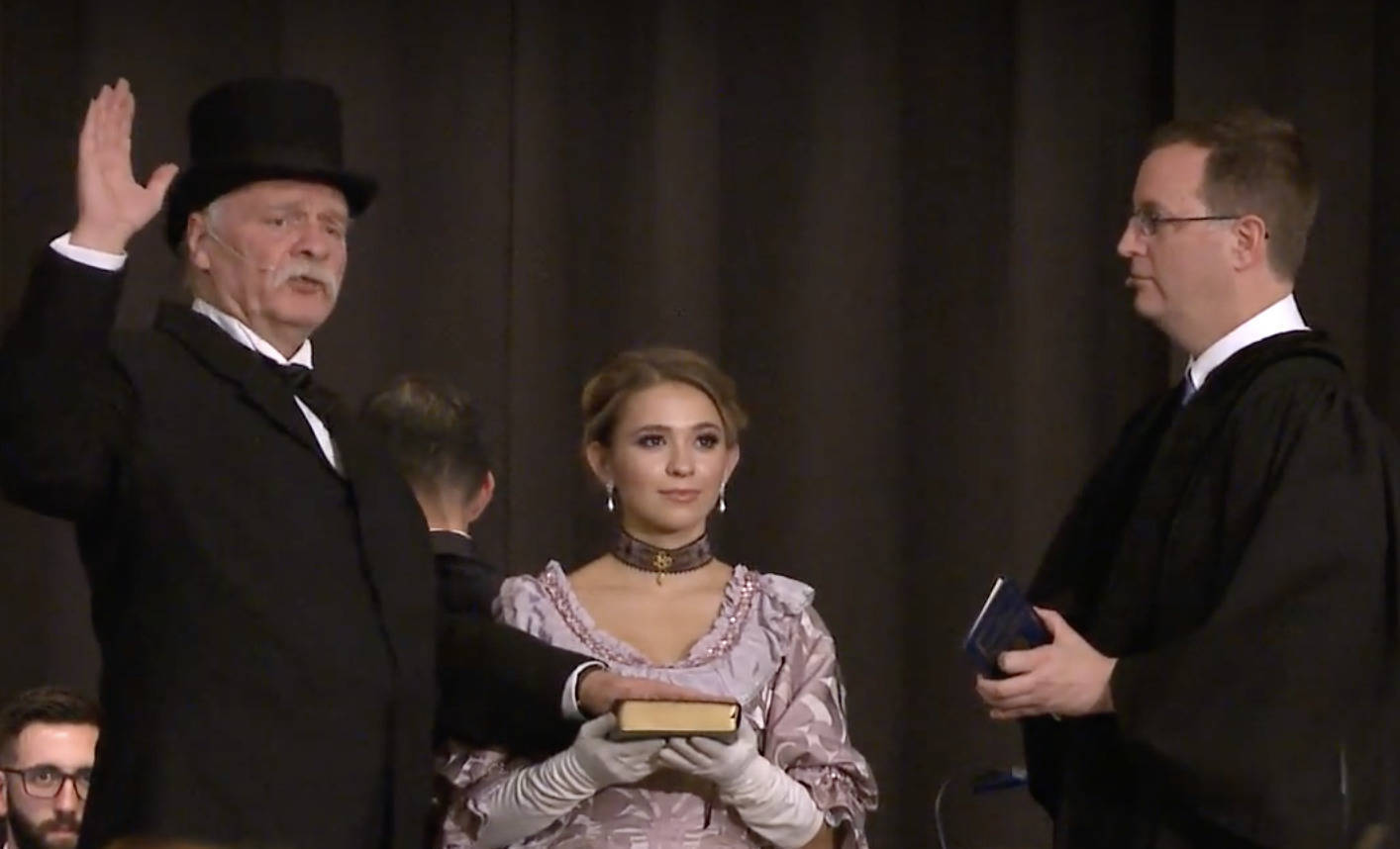 Grover Cleveland Inaugural Reenactment Gala