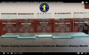 Essex County Commissioners Celebrate Women's History Month