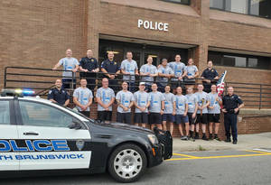 South Brunswick Police Raise over $15K for Special Olympics