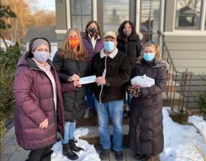 Livingston Women Construct 500 Sandwiches a Week for Newark Food Pantry