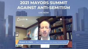 Livingston Mayor Represents U.S. at International Summit Against Anti-Semitism