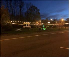 Chatham Borough Economic Development Advisory Committee (EDAC) Announces Seating Area for Dining at Reasoner Park Gazebo