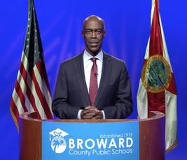 Broward County Schools Superintendent Robert Runcie in a new video released Monday.