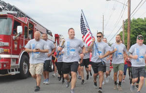 Union Police Pass the Torch for Special Olympics