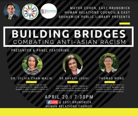 East Brunswick Builds Bridges To Combat Anti-Asian Racism