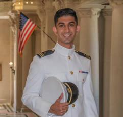 East Brunswick's Jatin Khona Graduates from the United States Naval Academy