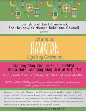 East Brunswick Lights the Lanterns to End Ramadan