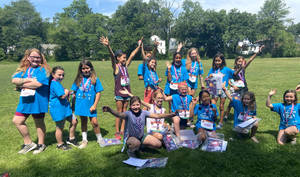 Girls on the Run Finishes Season with a 5K in Borden Park