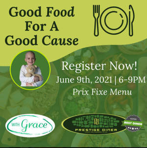 Good Food for a Good Cause: Dine Out With Grace for Pediatric Cancer