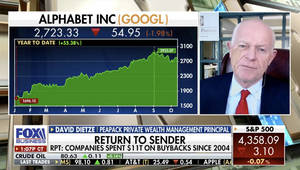 WATCH: Peapack Private Wealth's Dietze Maintains Long-Term Optimism Despite 'Murkiness Up Ahead'
