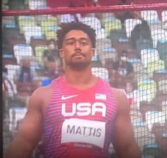 East Brunswick's Sam Mattis Places Eighth in Olympics Discus