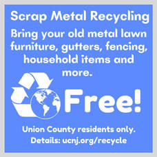 Union County Offers Last Chance in 2021 to Recycle Household Scrap Metal, Free of Charge