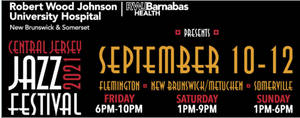 Central Jersey Jazz Fest, Fri, Sept 10th, 6-10pm, Stangl Road