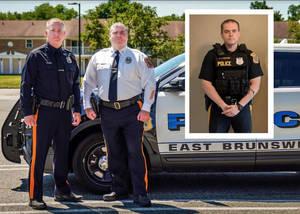 East Brunswick Police Officers To Receive NJSACOP Valor Award