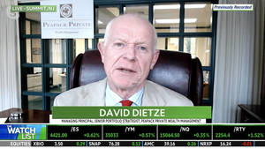 WATCH: Peapack Private Wealth's Dietze Posts His Thoughts on Facebook, Top Stocks Picks
