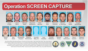 """New Jersey Police Announce 21 Pedophile Arrests in """"Operation Screen Capture"""""""