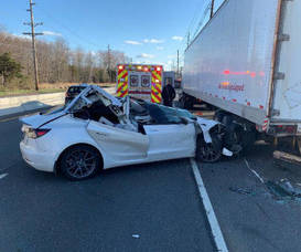 Route 1: Distracted Driver Crashes Car Into Tractor Trailer Inbox