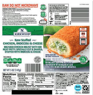 Recall Alert: 59K Lbs of Breaded Chicken with Possible Salmonella Contamination