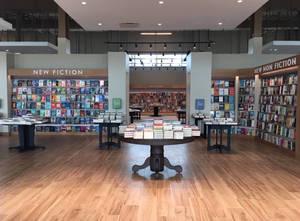 Smaller Barnes & Noble store in Sarasota, FL.