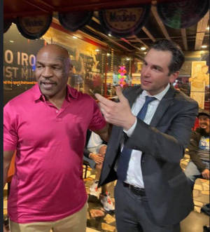Boxing Legend Mike Tyson Back in Jersey City