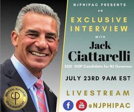 NJPHIPAC to Interview Republican Gubernatorial Candidate Jack Ciattarelli