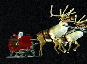 NORAD Radar Tracking Verifies Santa's Journey to Randolph is Underway