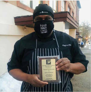 Elijah's Promise Chef Curtis McNair Honored by East Brunswick Indian Cultural Society