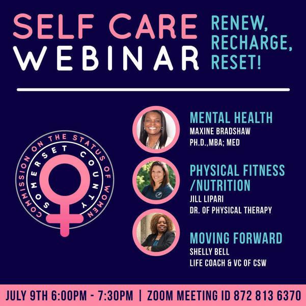 Self-care webinar for women