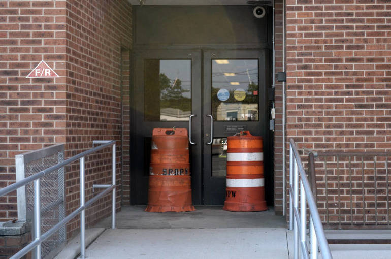 The Scotch Plains Municipal Building closed early on Wednesday, due to a sewer backup.